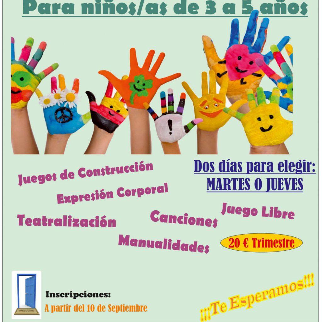 Cartel Inicio Curso 2018 19 – Actividad Taller De Los Sentidos 001 (final)