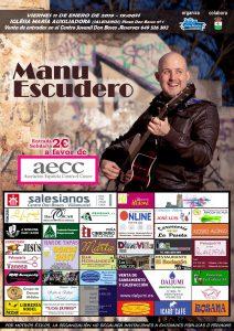 Cartel Concierto Manu Escudero