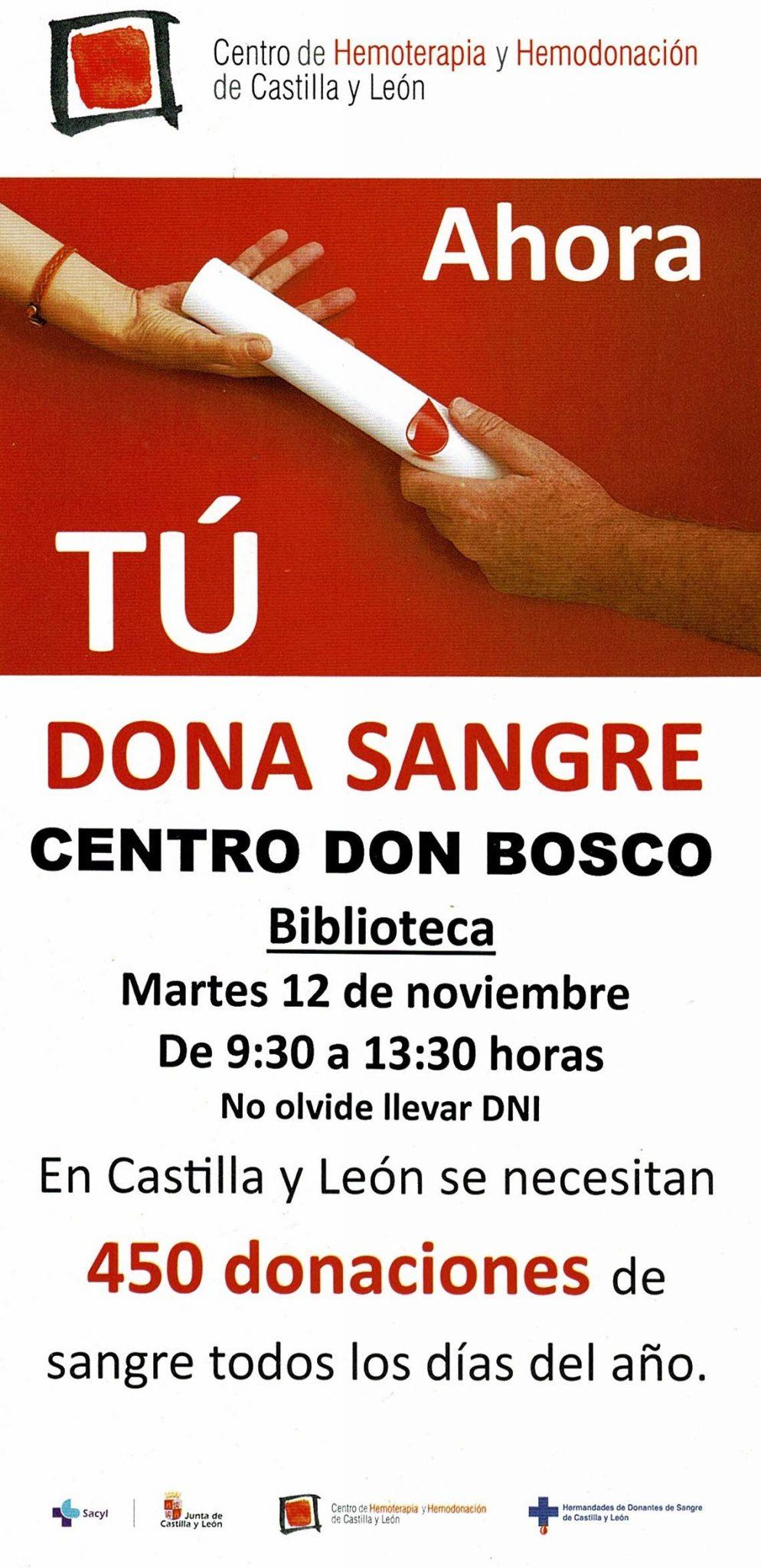 Donacion Sangre – Centro Don Bosco