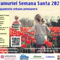 Cartel Campamuriel Semana Santa 2021